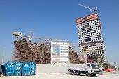 Construction site in Kuwait