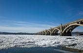 Bridge on Frozen River