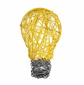 Lightbulb Made Of Wire