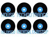 Electronic Music Genres Vinyl 1