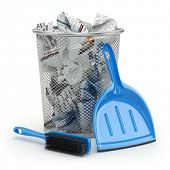 picture of garbage bin  - Cleaning concept - JPG