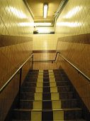 retro stairwell
