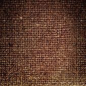 Brown Saskcloth Background