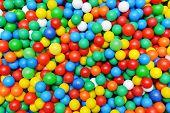 Color Plastic Balls