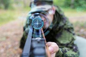 foto of sniper  - hunting - JPG