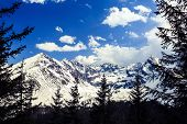 ������, ������: Mountains Landscape Sunny Day In Tatras