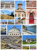 stock photo of sibiu  - Romania country photo collage - JPG