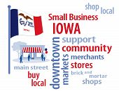 stock photo of local shop  - Small Business word cloud illustration - JPG