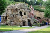 caves at nottingham castle