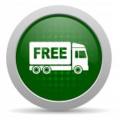 pic of free-trade  - free delivery icon transport sign  - JPG