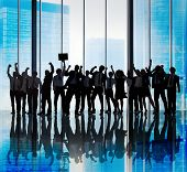 picture of coworkers  - Success Team Teamwork Togetherness Business Coworker Occupation Concept - JPG