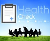 image of medical condition  - Health Check Diagnosis Medical Condition Analysis Concept - JPG