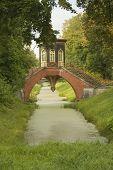 Bridge Pavilion in Tsarskoe Selo, Russia