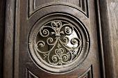 Round Design On Door