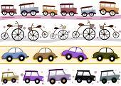 Vintage Vehicle Borders