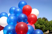 Balloons On July 4th
